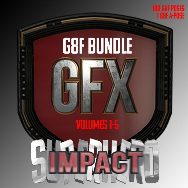 SuperHero Impact Bundle for G8F