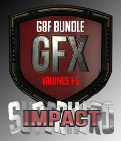 SuperHero Impact Bundle for G8F