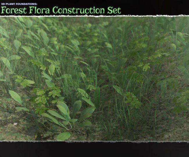 Plant Foundations: Forest Flora Construction Set