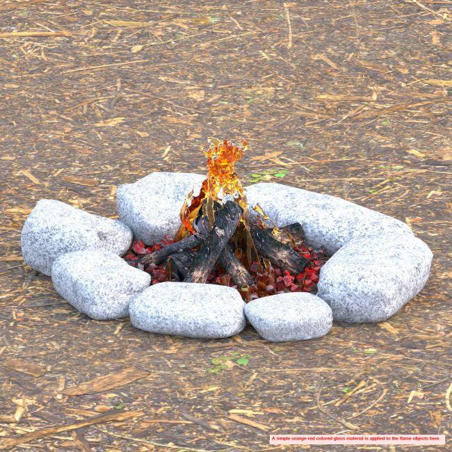 Campfire Ring Breakfast