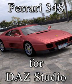 Ferrari 348T for DAZ Studio