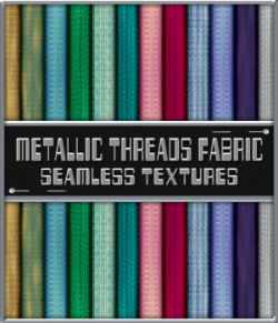 Metallic Threads Fabric Seamless Texture Pack
