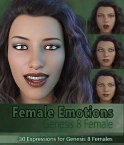 Female Emotions for Genesis 8
