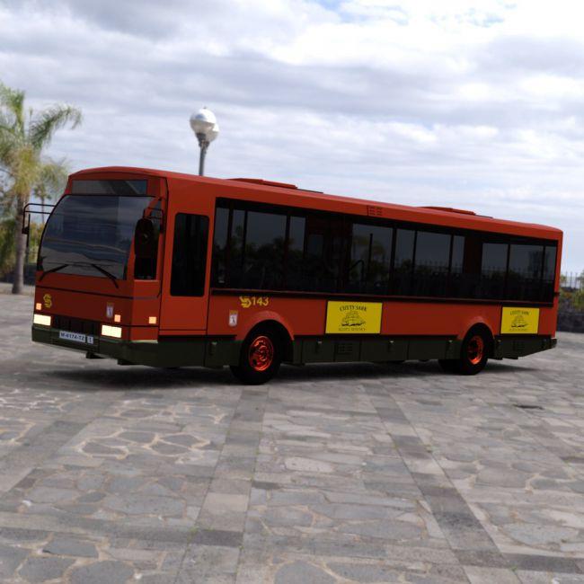 E.M.T. Bus for DAZ Studio