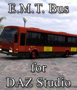 E.M.T. Bus for DAZ Studio