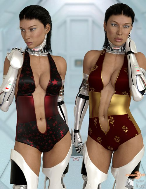 BLACKHAT:FUTURISTIC - Future Swimwear 8 for G3F and G8F