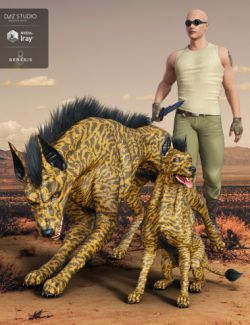 Anubis Hound for Daz Dog 8
