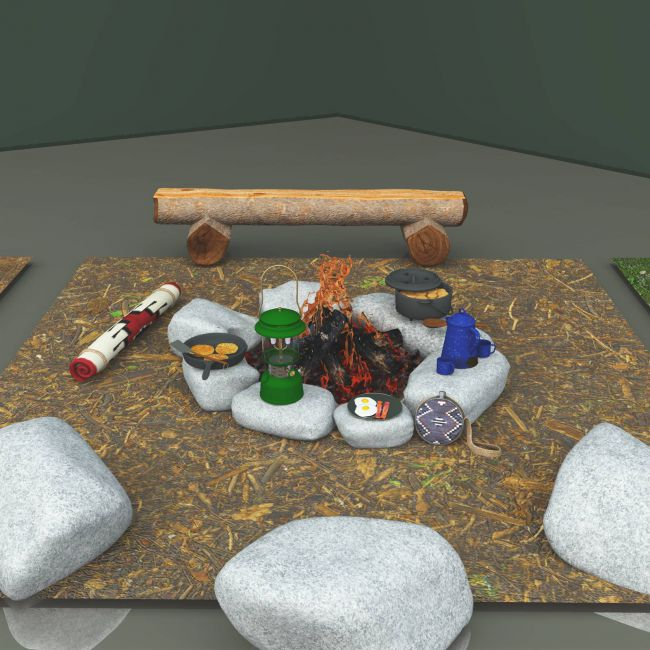Campfire Ring For Vue