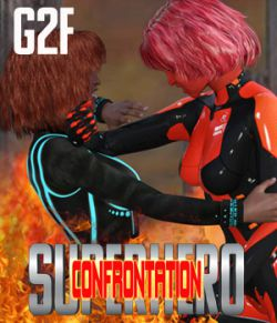 SuperHero Confrontation for G2F Volume 1