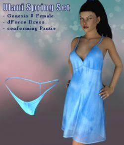 dForce Ulani Spring Set for Genesis 8 Female