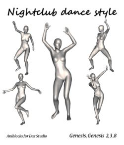 Nightclub dance style by LifeMotion