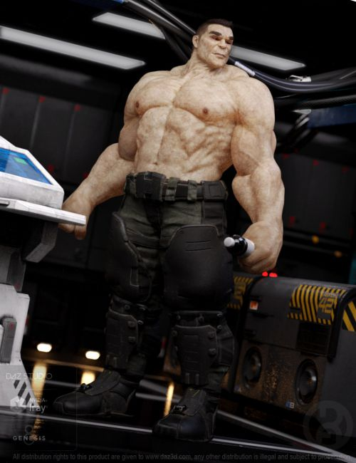 Biggun for Genesis 8 Male