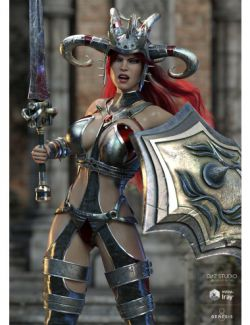 Zealoth Outfit and Weapons for Genesis 8 Female(s)