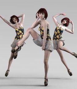 High Fashion Editorial Poses for Genesis 8 Females