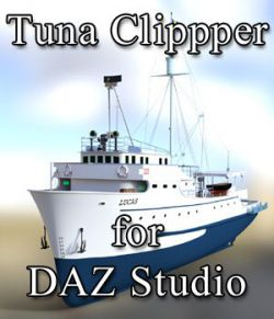 Tuna Clipper for DAZ Studio