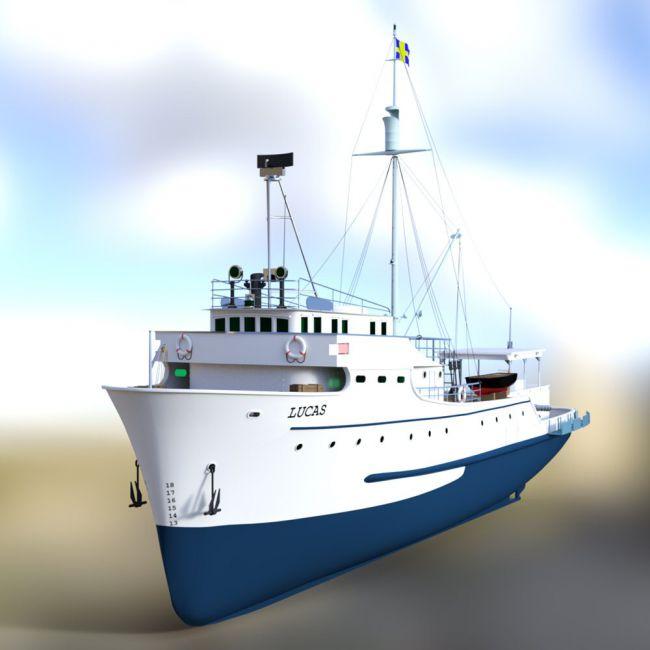 Tuna Clipper for DAZ Studio