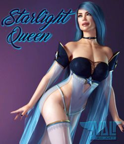 Starlight Queen for Genesis 8 Female