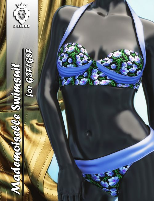 JMR Mademoiselle Swimsuit for G3F and G8F