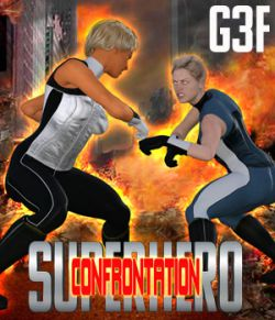 SuperHero Confrontation for G3F Volume 1