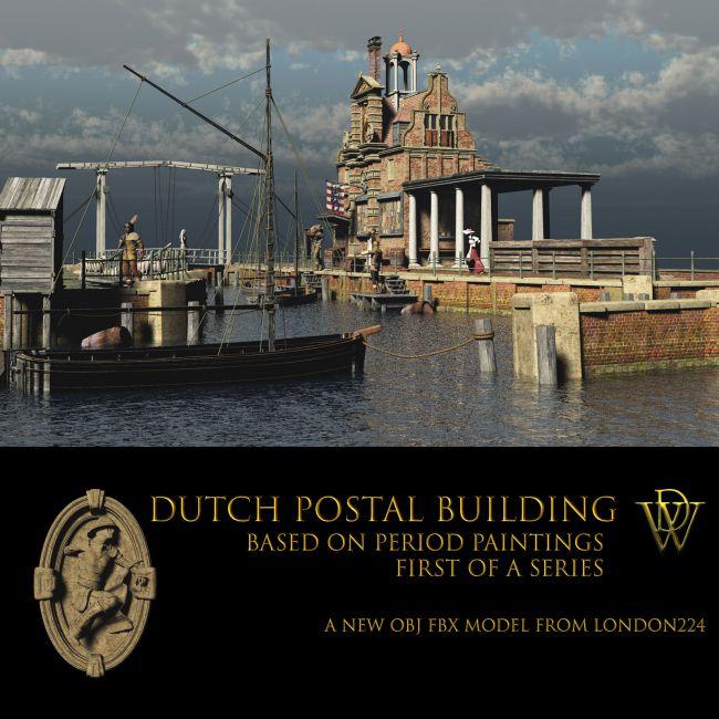 MS18 Brugge Postal Building & Canal Vue 9+