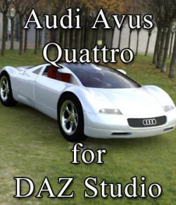 Audi Avus Quattro for DAZ Studio