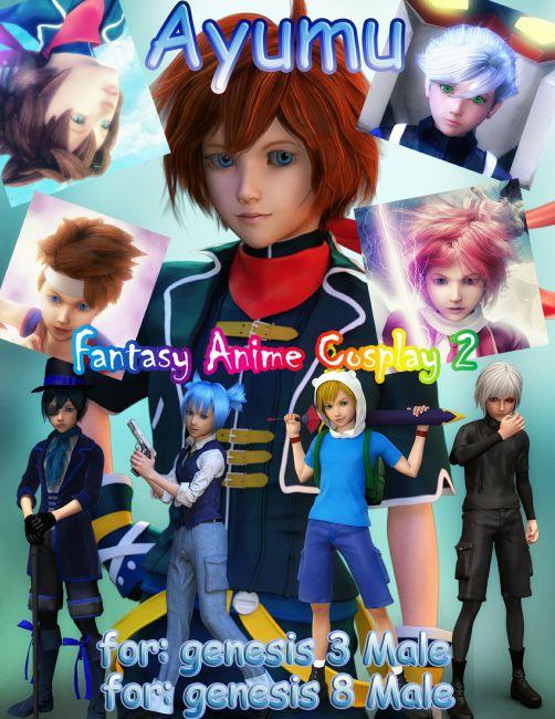 Fantasy-Anime-Cosplay 2 _ Ayumu _ for G3M G8M