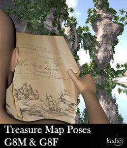 Treasure Map Poses G8F & G8M