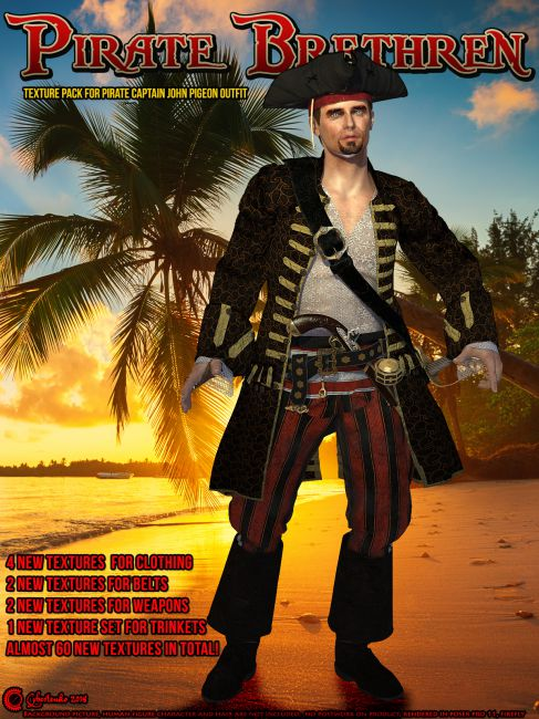 Pirate Brethren for Pirate Captain John Pigeon