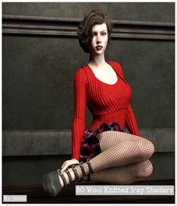 80 Wool Knitted Iray Shaders- Merchant Resource