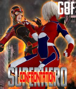 SuperHero Confrontation for G8F Volume 1