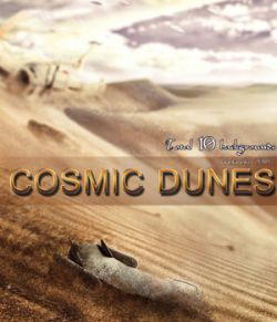 Cosmic Dunes- 2D backgrounds