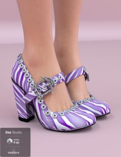 Jiwoo Punk Heel for Genesis 8 Female(s)