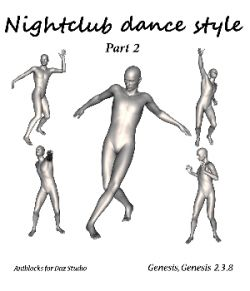 Nightclub dance style Part 2  by LifeMotion