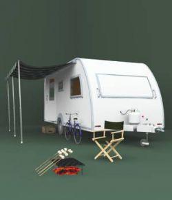1950's Caravan For Vue