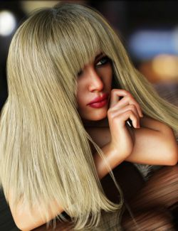 Bang Bob Hair with dForce for Genesis 8 Female(s)