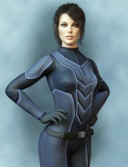 X-Fashion Sci Bodysuit 6 for Genesis 8 Female(s)
