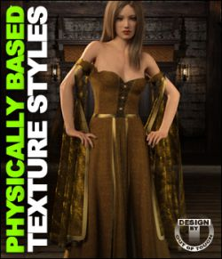OOT PBR Texture Styles for July Gown