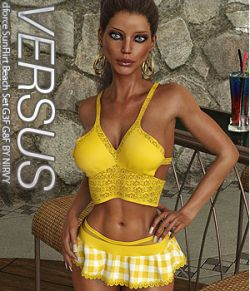 VERSUS - dforce SunFlirt Beach Set G3F G8F
