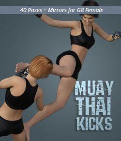 MUAY THAI KICKS for Genesis 8 Female