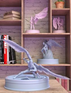 Sacrosanct: Poses and Expressions for Genesis 8 and Morningstar Wings
