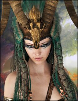 Axarra Headdress Textures
