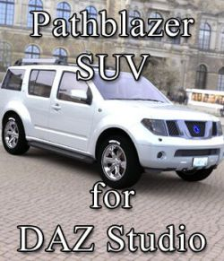 Pathblazer SUV for DAZ Studio