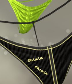 OhLaLa Panty for Genesis 8 Female