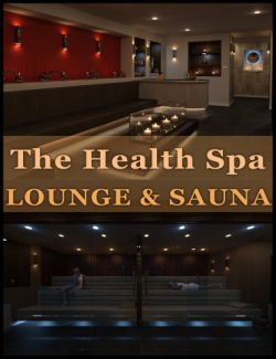 The Health Spa: Lounge and Sauna