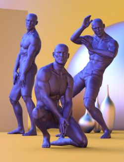 Solarized Poses for Genesis 8 Male
