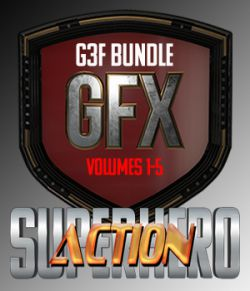 SuperHero Action Bundle for G3F