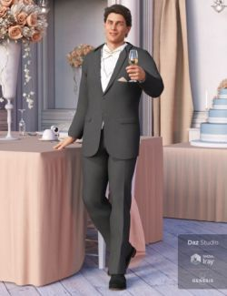 The Groom Outfit for Genesis 8 Male(s)