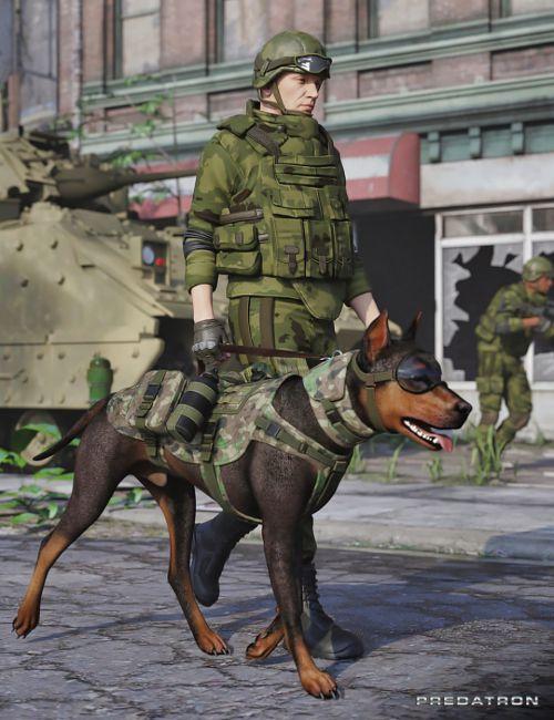 Utility Dog Vests for Daz Dog 8