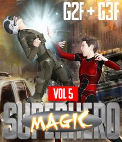 SuperHero Magic for G2F and G3F Volume 5