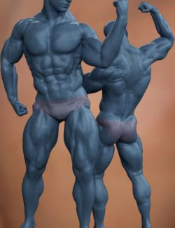 Musculature HD Morphs for Genesis 8 Male